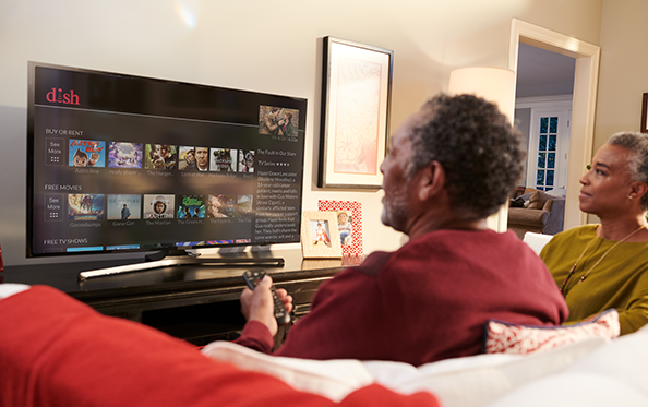 Customers 55+ Receive their first On Demand Movie Rental FREE Each Month from Dish Country Inc. in Flemingsburg, KY